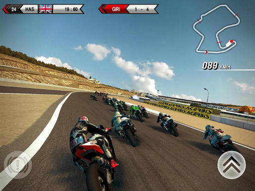 Геймплей SBK15: Official mobile game для Android телефону.