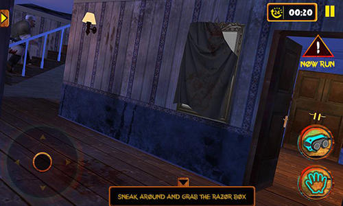 Screenshots von Scary butcher 3D für Android-Tablet, Smartphone.