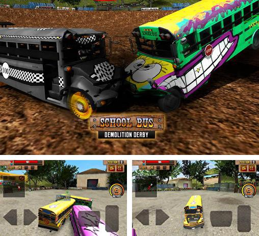 In addition to the game World of derby for Android phones and tablets, you can also download School bus: Demolition derby for free.