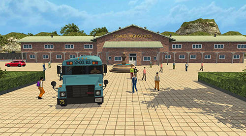 Screenshots von School bus drive challenge für Android-Tablet, Smartphone.