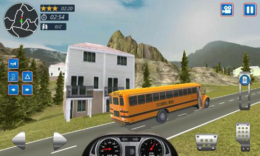 Jogue School bus driver 2016 para Android. Jogo School bus driver 2016 para download gratuito.