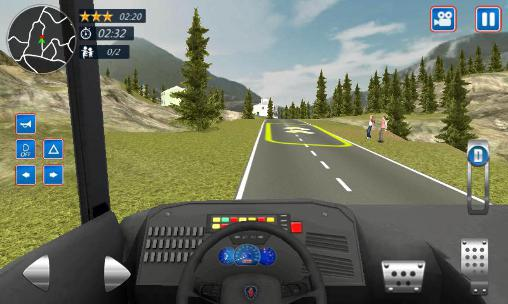 Screenshots von School bus driver 2016 für Android-Tablet, Smartphone.
