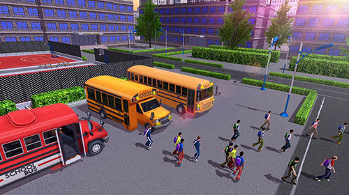 玩安卓版School bus game pro。免费下载游戏。