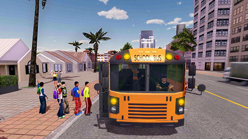 安卓平板、手机School bus game pro截图。