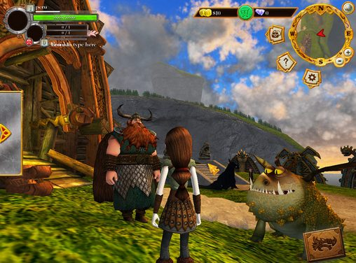 Screenshots von School of dragons für Android-Tablet, Smartphone.
