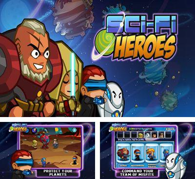 In addition to the game Track My Train for Android phones and tablets, you can also download Sci-Fi Heroes for free.
