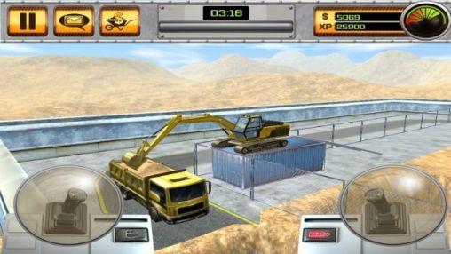 Scoop excavator pour android t l charger gratuitement - Pelleteuse simulator gratuit ...