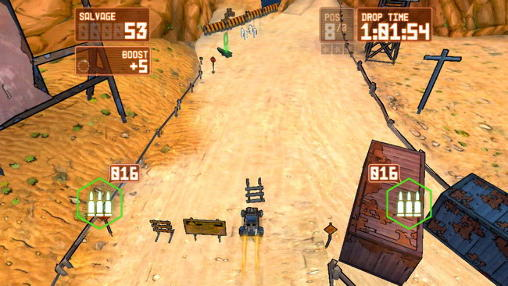 Screenshots do Scorched: Combat racing - Perigoso para tablet e celular Android.