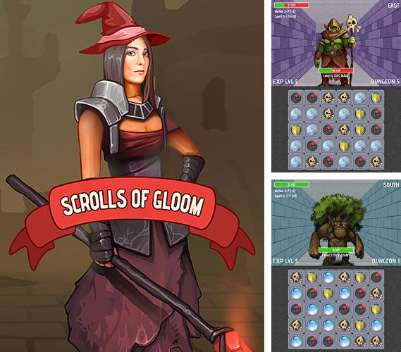 In addition to the game Mystery dungeon: Roguelike RPG for Android phones and tablets, you can also download Scrolls of gloom for free.