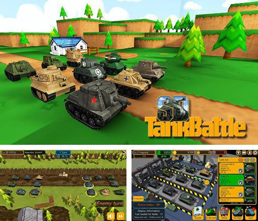 In addition to the game War of tanks: Online for Android phones and tablets, you can also download SD tank battle for free.