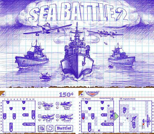 In addition to the game Battleship 2 for Android phones and tablets, you can also download Sea battle 2 for free.