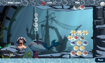 Juega a Sea Bubble HD para Android. Descarga gratuita del juego Burbuja del mar HD.