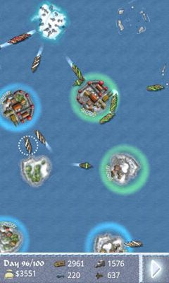 Screenshots of the Sea Empire: Winter lords for Android tablet, phone.
