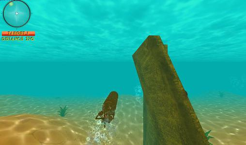 Screenshots von Sea on fire: Submarine wars für Android-Tablet, Smartphone.