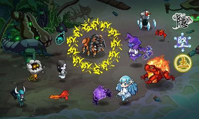 Screenshots von Seal the Monsters für Android-Tablet, Smartphone.