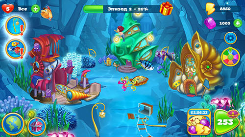 Seascapes: Trito's match 3 adventure картинка из игры 3