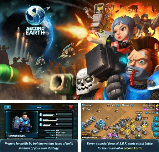 In addition to the game Office jerk: Holiday edition for Android phones and tablets, you can also download Second Earth for free.
