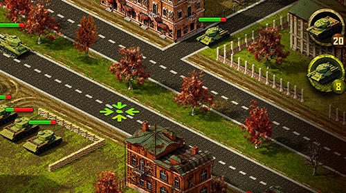 Download Second world war: Real time strategy game! Android free game.