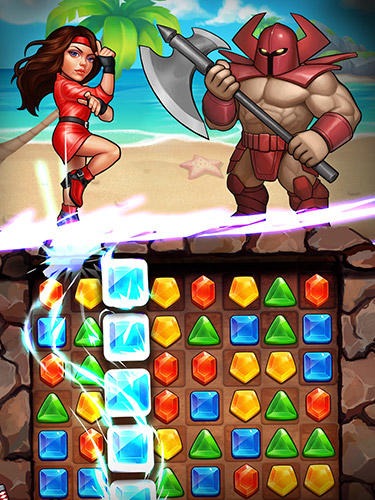 Screenshots of the SEGA heroes for Android tablet, phone.
