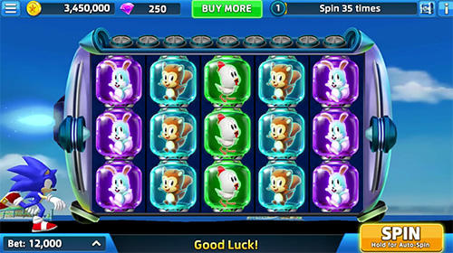 SEGA slots screenshot 2