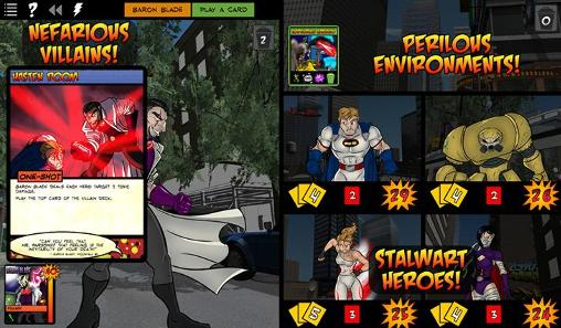 Juega a Sentinels of the multiverse para Android. Descarga gratuita del juego Centinelas del multiuniverso.