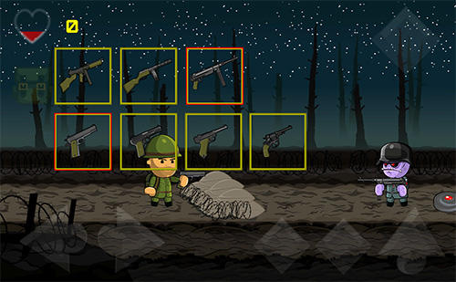 Screenshots von Sergeant Mahoney and the army of sinister clones für Android-Tablet, Smartphone.