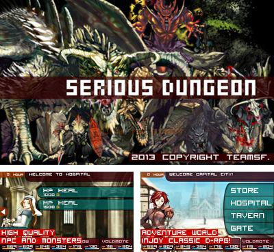 In addition to the game Sefirah for Android phones and tablets, you can also download Serious Dungeon for free.