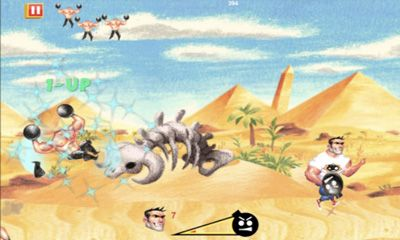 Jogue Serious Sam: Kamikaze Attack para Android. Jogo Serious Sam: Kamikaze Attack para download gratuito.