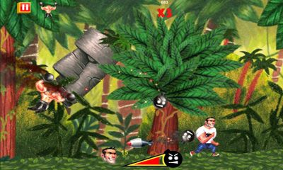 Screenshots do Serious Sam: Kamikaze Attack - Perigoso para tablet e celular Android.