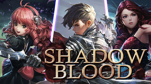 Shadow blood poster