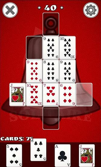 Shadow solitaire screenshot 1