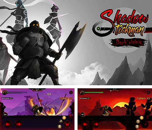 Shadow stickman: Dark rising. Ninja warriors