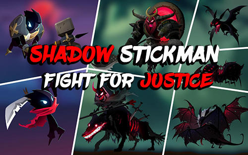 Shadow stickman: Fight for justice poster