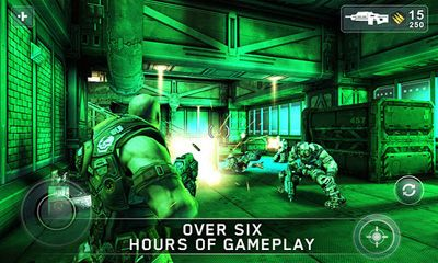 Screenshots von SHADOWGUN für Android-Tablet, Smartphone.