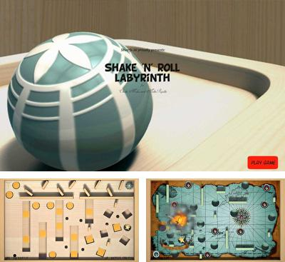 In addition to the game SushiChop for Android phones and tablets, you can also download Shake 'n' Roll Labyrinth for free.
