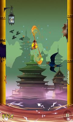 Screenshots do Shaolin Jump - Perigoso para tablet e celular Android.