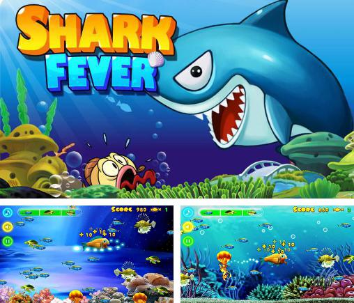 In addition to the game Frog candys: Yum-yum for Android phones and tablets, you can also download Shark fever for free.