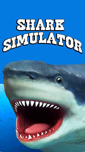 Shark simulator poster