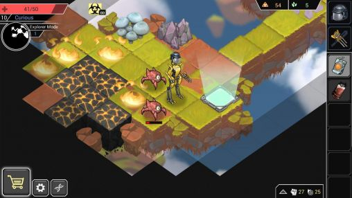 Shattered planet screenshot 3