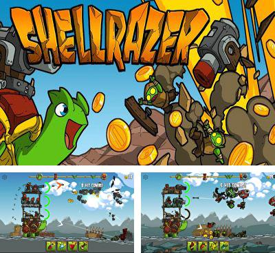 In addition to the game I Am Vegend Zombiegeddon for Android phones and tablets, you can also download Shellrazer for free.