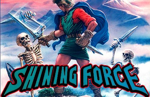 Shining force classics poster