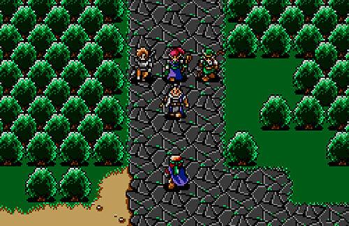 Shining force classics screenshot 1