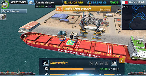 Screenshots von Ship tycoon für Android-Tablet, Smartphone.