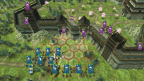 Screenshots von Shogun's empire: Hex commander für Android-Tablet, Smartphone.