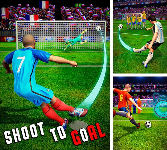 In addition to the game Soccer: Ultimate team for Android phones and tablets, you can also download Shoot 2 goal: World multiplayer soccer cup 2018 for free.