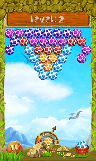 Download Shoot dinosaur eggs Android free game.