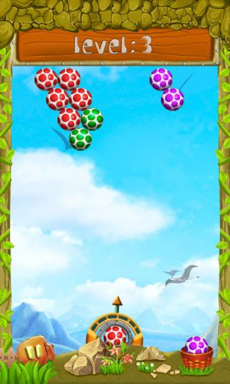 Get full version of Android apk app Shoot dinosaur eggs for tablet and phone.