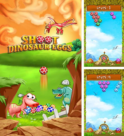 In addition to the game Fruit shooter saga for Android phones and tablets, you can also download Shoot dinosaur eggs for free.