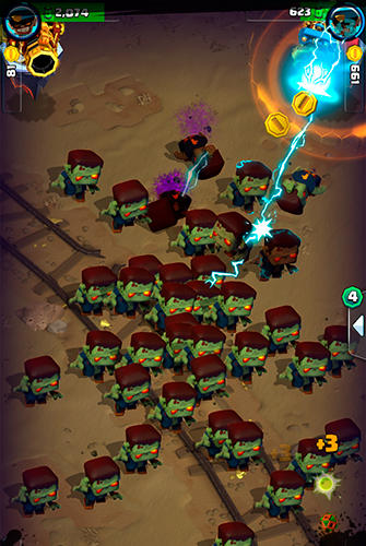 Shoot like hell: Zombie screenshot 2