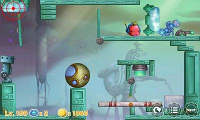 Screenshots of the Shoot the Apple for Android tablet, phone.